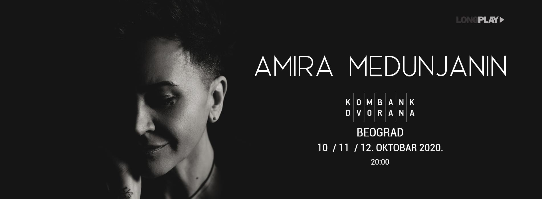 Amira Medunjanin Kombank Dvorana koncert