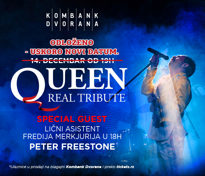 Queen Real Tribute Band - ODLOŽENO
